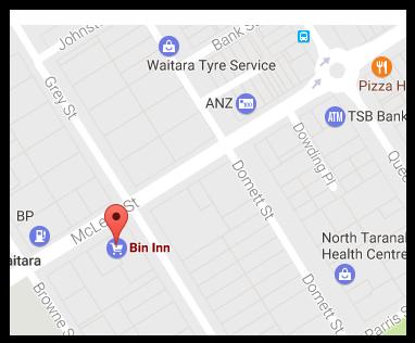 Bin Inn Waitara (Taranaki)