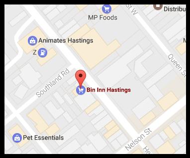 Bin Inn Hastings