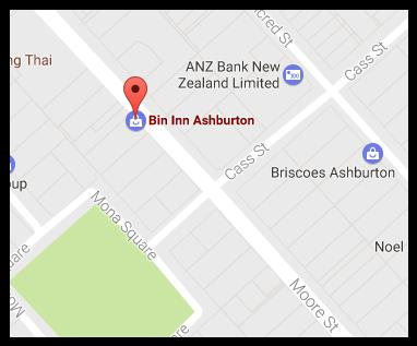 Bin Inn Ashburton