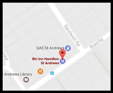 Bin Inn St Andrews (Hamilton)