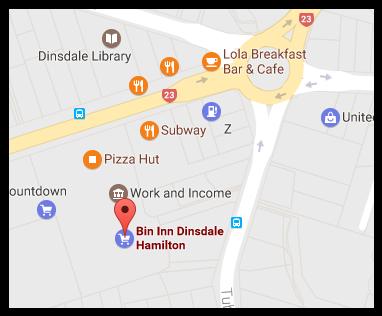 Bin Inn Dinsdale (Hamilton)
