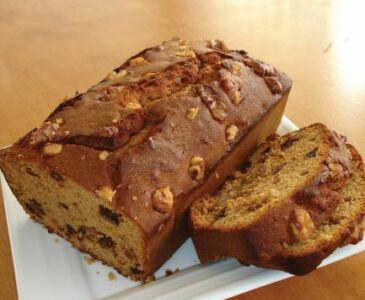 Sticky Date Walnut Loaf