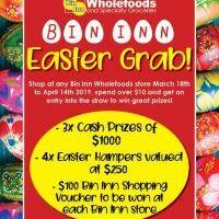 Bin Inn Easter Grab